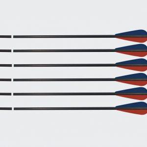 Archery Aluminium Arrow (Set of 12)-0