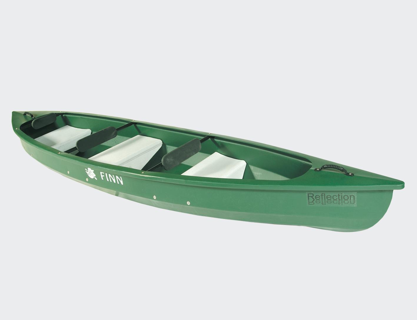 Reflection Canoe with Paddle-0