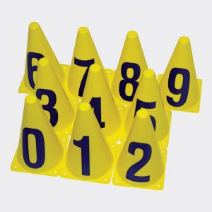 Numbered Witches Hats (Set of 10)-0