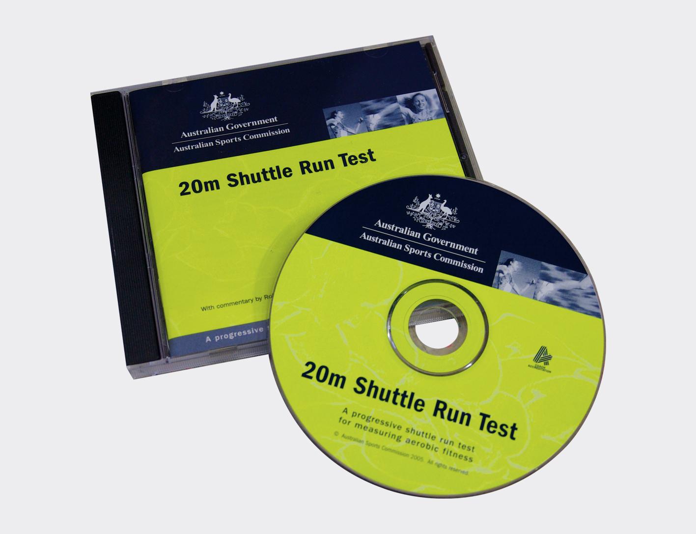 20m Shuttle Run (CD Beep Test)-0