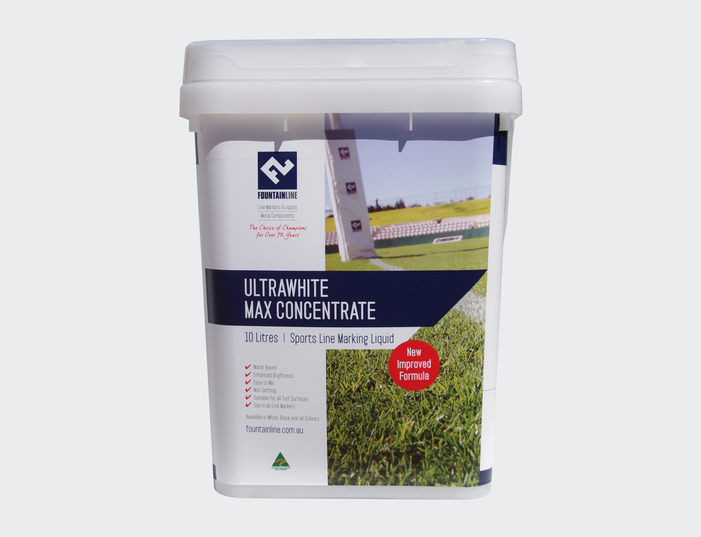 Ultra White or Black Line Marking Paint (10ltr Concentrate)-0