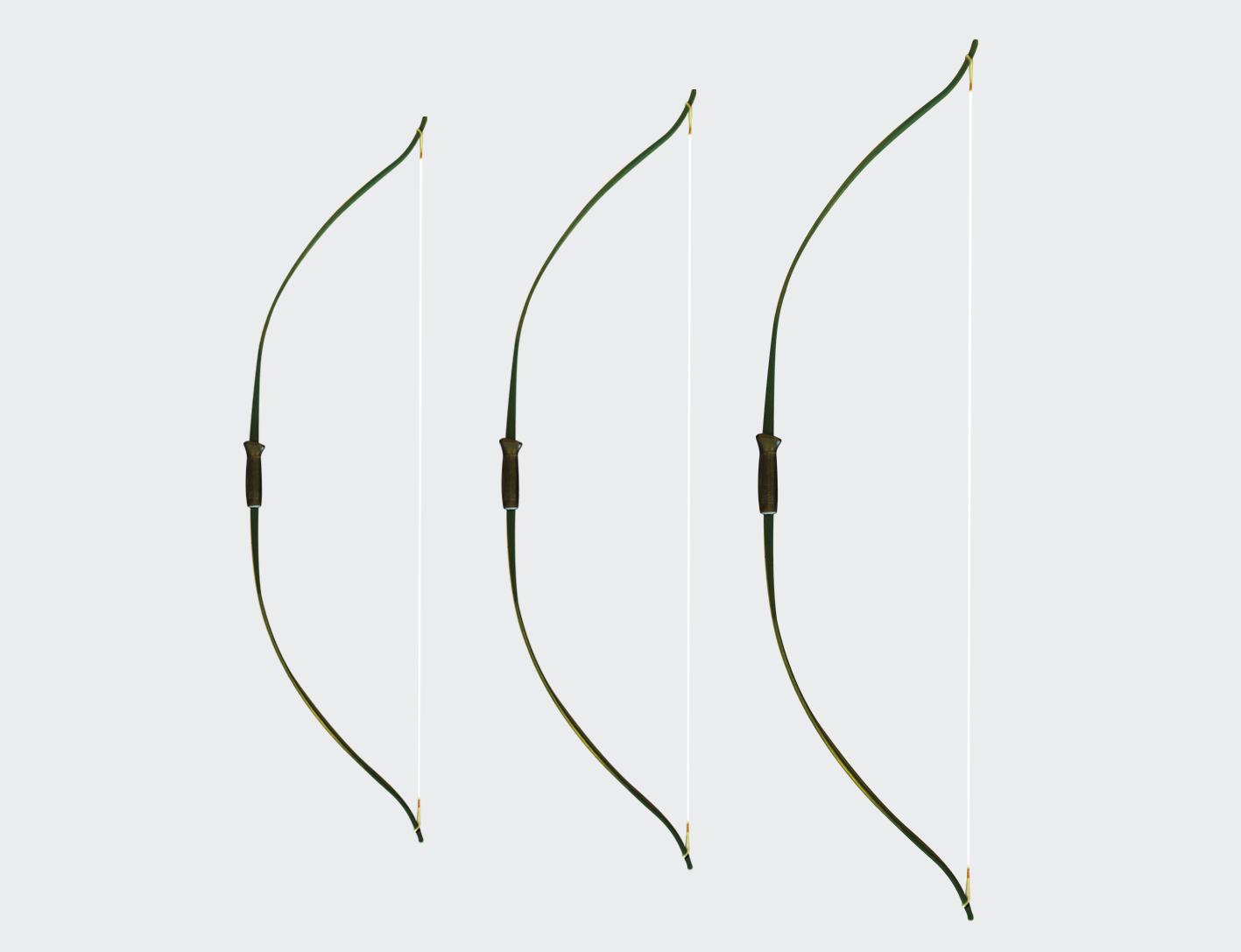 "Archery Fiberglass Bow 60""-0"