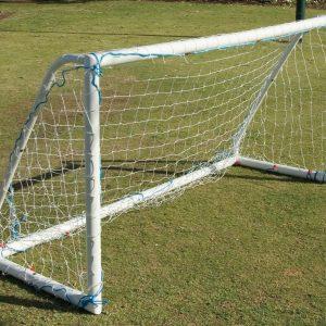 PVC Garden Goal 2400 x 1200 x 1000mm (Pair)-0