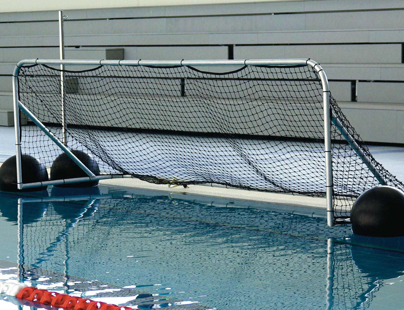 Water Polo Goals 3000 x 900mmm (Pair)-0
