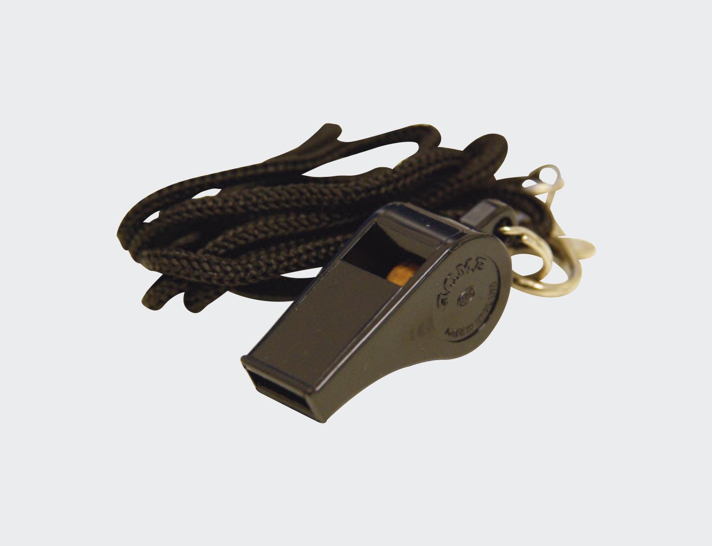 Acme Thunderer Plastic Whistle with Lanyard -0