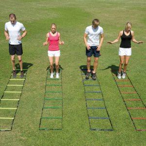 4 Colour Agility Ladder Set (4 x 4m)-0