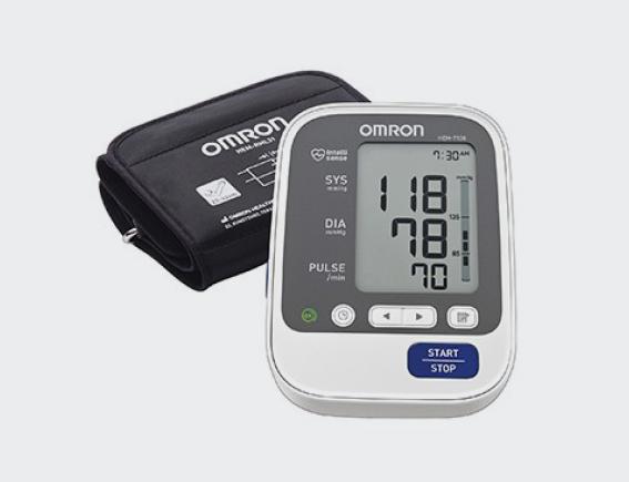 Auto Digital Deluxe Sphygmomanometer-0