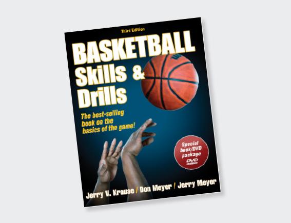 Basketball Skills & Drills Book -0