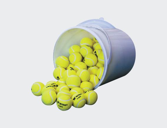 Bucket of Tennis Balls (72 Balls)-0