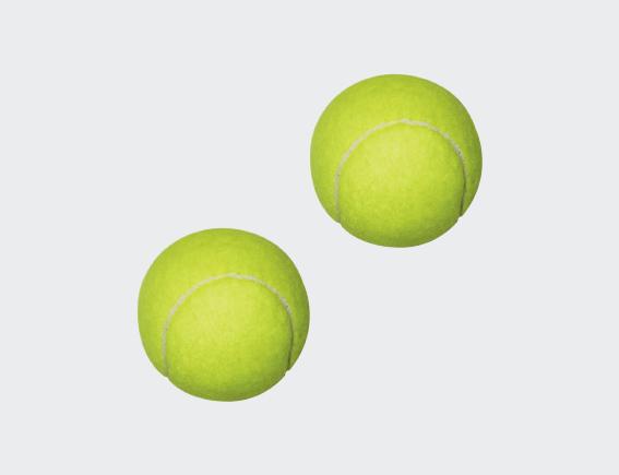 Coaching Tennis Balls (Dozen) -0