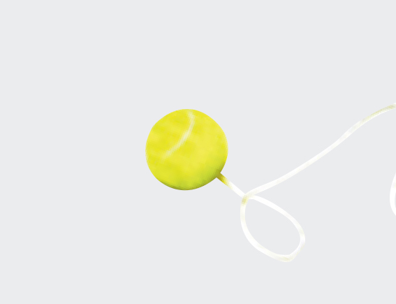 Toterm Tennis Ball (Replacement)-0