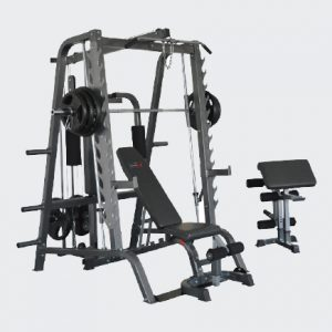 Deluxe Linear Bearing Smith Machine-0