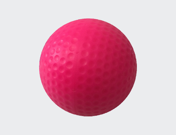 Dimple Vision Pink Hockey Ball-0