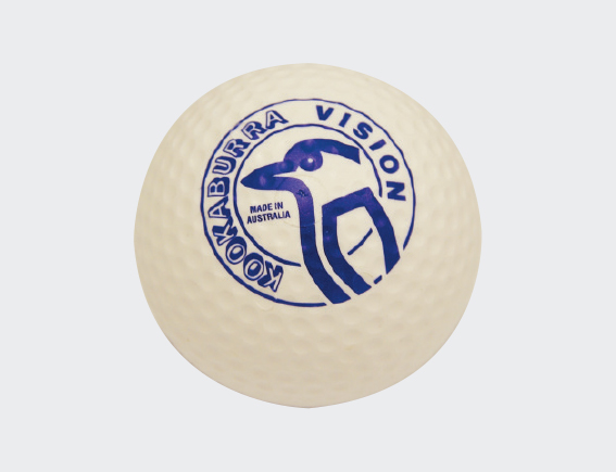 Dimple Vision White Hockey Ball-0